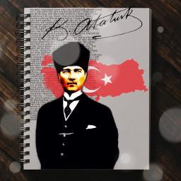 atatürk turkiye atatürk❤ freetoedit ircdesignanotebook designanotebook