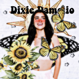 dixie dixiedamelio yellowcrown freetoedit