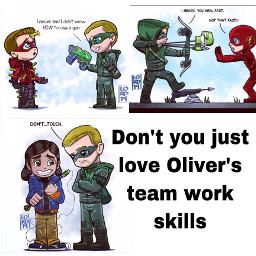 greenarrow teamwork