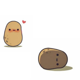 potato potatoes beautiful cute adorable freetoedit