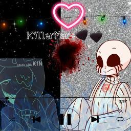 dreamtale killersans nigthmare killermare freetoedit