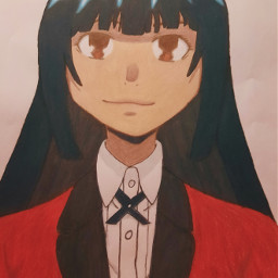 manga anime animegirl zeichnung drawing yumeko yumekojabami kakegurui