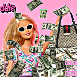barbie baddie money moneyyy freetoedit