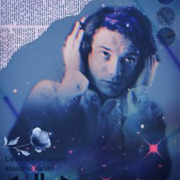 massimoranieri fanart vintageaesthetic neoneffect playlist musicplayer lamoreèunattimo love flower freetoedit