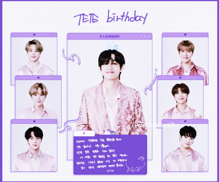 Happy birthday to Kim Taehyung 🥳💜🥳💜   #freetoedit #remix #remixit #bts #bangtanboys #kimtaehyung #kim #taehyung #v #btsv #vbts #happy #birthday #happybirthday #1995 #purple #myedit
