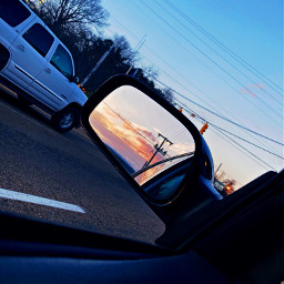 sunset car sun sky