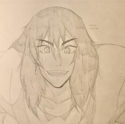 anime drawing doodle art traditionalart animeart sketch howl howlsmovingcastle howljenkinspendragon