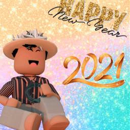 2021 newyear happynewyear2021 gfx roblox robloxboy xiinikistar freetoedit