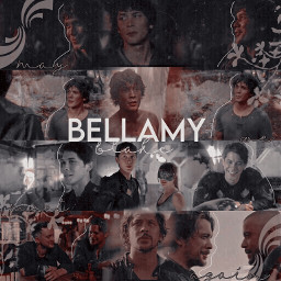 the100 bellamyblake the100bellamy the100edit bobmorley freetoedit