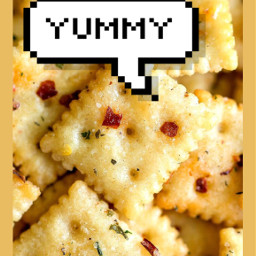 yummy crackers pleaselikeit itscool freetoedit