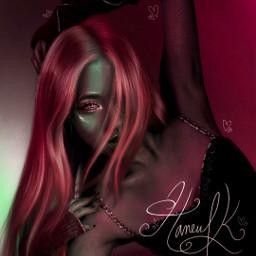 rosé roseblackpink blackpink kpop remix red howyoulikethat thealbum parkchaeyoung aesthetic art freetoedit