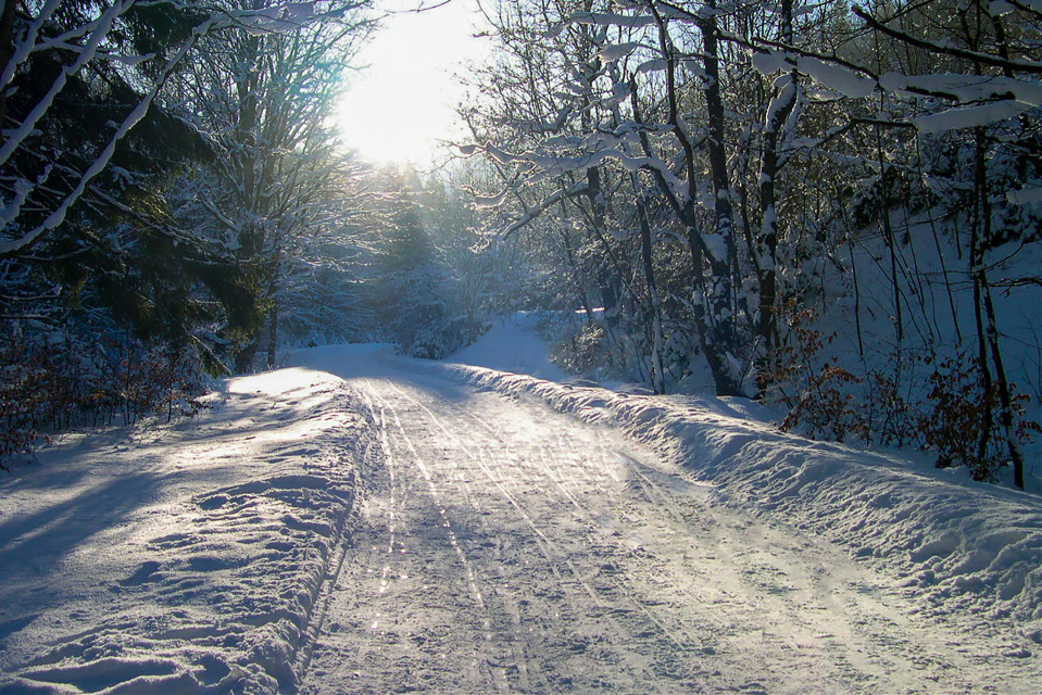 #winter #snow #road #nature #myphoto #landscape