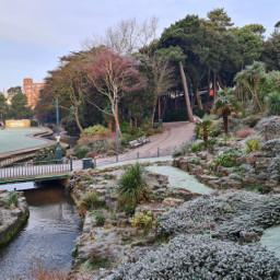 landscape garden nature travel