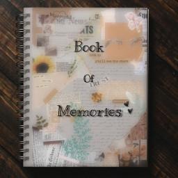 collage paper book memories sweet freetoedit ircdesignanotebook designanotebook