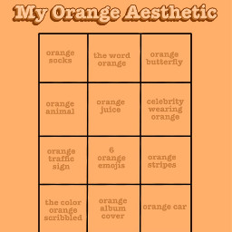 freetoedit chart boxes challenge color aesthetic orange