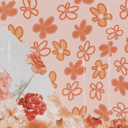 flowers wallpaper retro vintage paper papercut effects pink dust noise flowerpower aesthetic aestheticwallpaper paperart wallpaperaesthetic papicks madewithpicsart picoftheday myedit picsartstickers 1970 pretty cute soft freetoedit