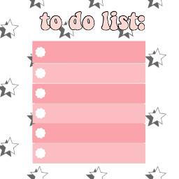 todolist todoliste foryou pink todo list liste design interesting rose freetoedit