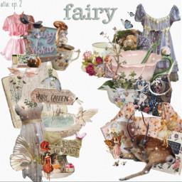 freetoedit aesthetic fairy cute flowers