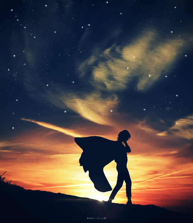 #2021 #legend #woman #supergirl #super #marvel #dc #picsart @picsart #freetoedit #replay #sticker #shadow #hero #sunset #cape