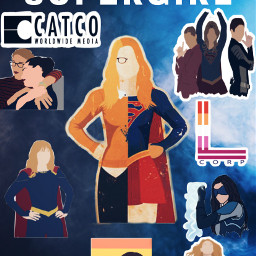 supergirl karadanvers alexdanvers lenaluthor mon dccomics freetoedit