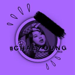 kpop cherrymin chaeyoung chaeyongtwice twice twicechaeyong babytiger🐯 aestheticspurple babytiger