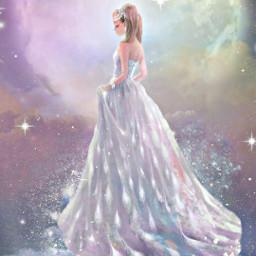 moon stars fantasyart freetoedit fcmybesteditsof2020 mybesteditsof2020
