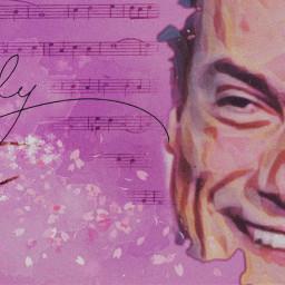 massimoranieri vintageaesthetic retroeffect blossomflowers 50sstyle music love fanart vintageposter