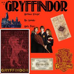harrypotter hermionegranger ronaldweasley gryffindor platform9¾ hogwartsexpress hogwartsschoolofwitchcraftandwizardry freetoedit