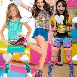 girls colourful roller freetoedit srcmonochromeemojis