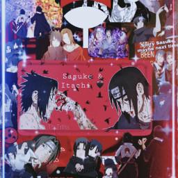 freetoedit sasuke itachi uchiha brothers naruto viral viraledit