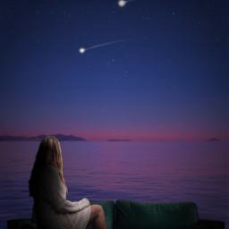 picsartchallenge makeawish wish wishaponastar star stars night nighttime nighttimewishes shootingstar shootingstars couch freetoedit irccomfysofa comfysofa