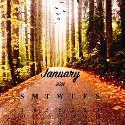 calendarchallenge nature freetoedit srcjanuarycalendar januarycalendar