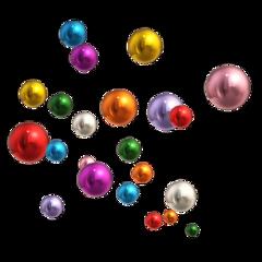 freetoedit balls shiny party metallic