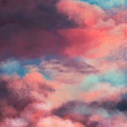 freetoedit picsart drawing sky background clouds remix remixit