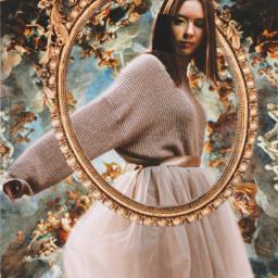 freetoedit renaissance renaissanceportrait renaissanceaesthetic vintage painting canvaseffects canvas
