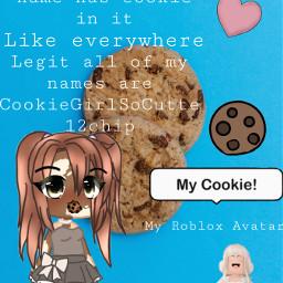 cookie cookiegirl gachalife thatonekid cheese freetoedit