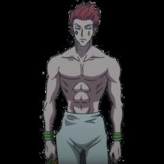 hisoka hisokamorrow hunterxhunter hxh clown anime freetoedit