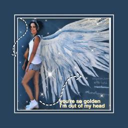 shine angel ok ışıltı freetoedit