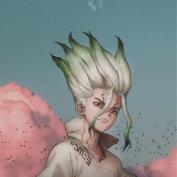 drstoneedit drstoneanime anime animeedit animeedits animeediting animeeditor aesthetic manga sky aestheticedit