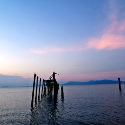 thailand sunset sea freetoedit