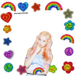 twicesana twice kpop indie rainbow sana feelspecial freetoedit