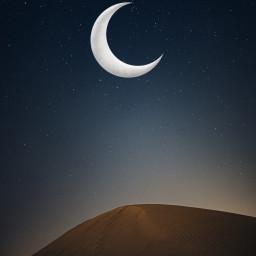 background moon fauspre dunasdearena freetoedit