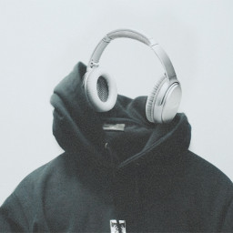 vibe earphones music sound listen ghost clothing photography surreal edit myedit