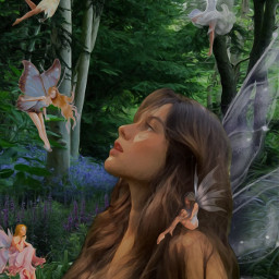 fairy fairywings fairycore fairygarden fairyaesthetic fairys fairyprincess fairygodess pretty cute cutest goddess girl womanportrait flower garden gardenflowers gardenofthegods greek greekmythology greekstatue greekmyth faeries fantasyart fantasy freetoedit