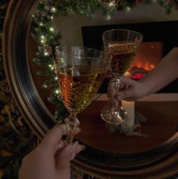 happynewyear merrychristmas christmastree holiday aesthetic mirror mood inspiration beautiful