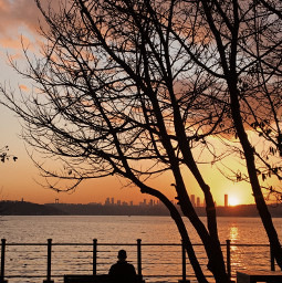 freetoedit photography photooftheday photographer nature sky sea beach followme travel travellers picsart sunset sun istanbul