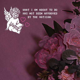 pink pinkaesthetic aesthetic photography flowers flower rose roses valentines lovecore pretty angelcore quote text angel cherub heart grunge neon renaissance hotpink pastelpink barbie cute pinkhearts freetoedit