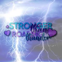 thunder freetoedit