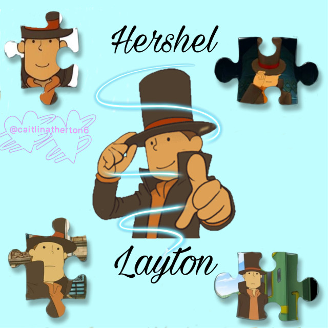 I have created an edit of Hershel Layton and I love Professor Layton #professorlayton #hershellayton #puzzlepiece #myedit