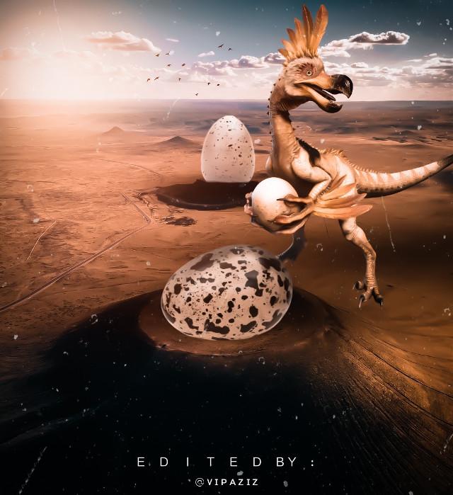 - - - - - - - - - - - - - - - - -    #Dinosaur #dinosaurs #Desert #monsterhunter #egg #eggs #dinosaurios #dinosaurstickerremix #dinosaurking #dinosaurlove #dinosaurio #art #photography  #dinosaurnationalmonument #natgeo #brouwn #monster #madewithpicsart #nature #edit #bird